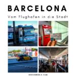 Vom Flughafen Barcelona in die Stadt für einen Euro!
