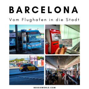 Vom Flughafen Barcelona bis in die Stadt für einen Euro!