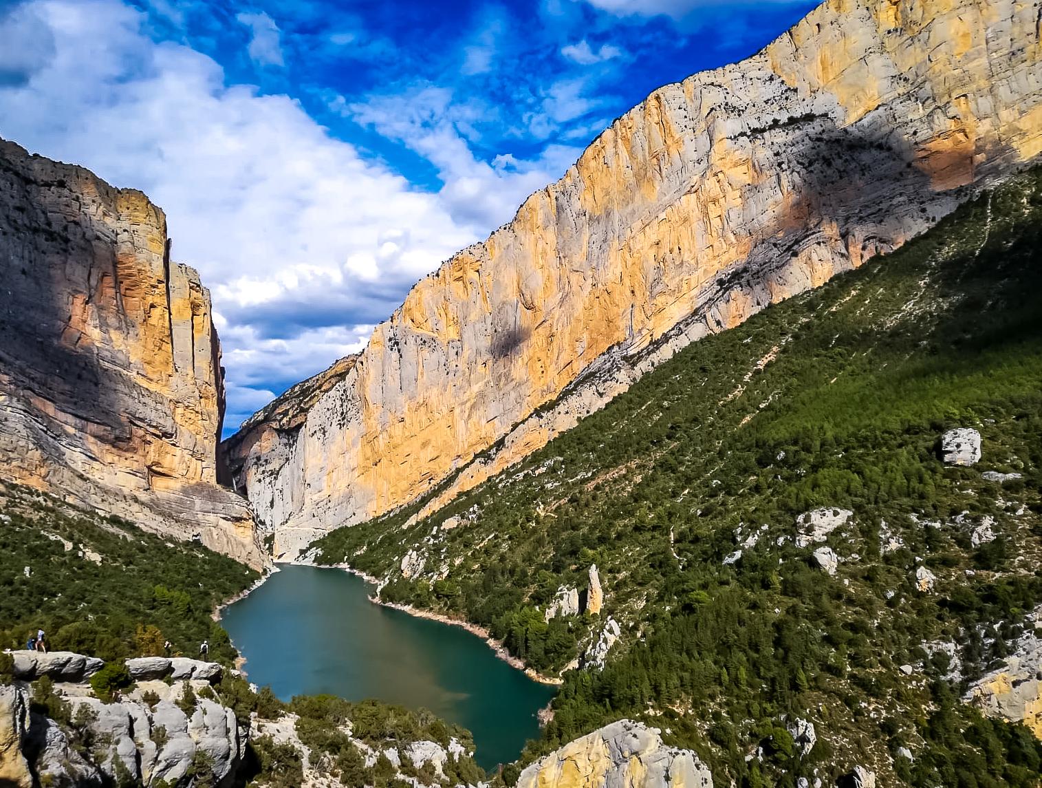 Die Schlucht vom Mont Rebei ist ein einmaliges Naturerlebnis!