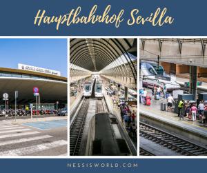 Hauptbahnhof Sevilla Santa Justa