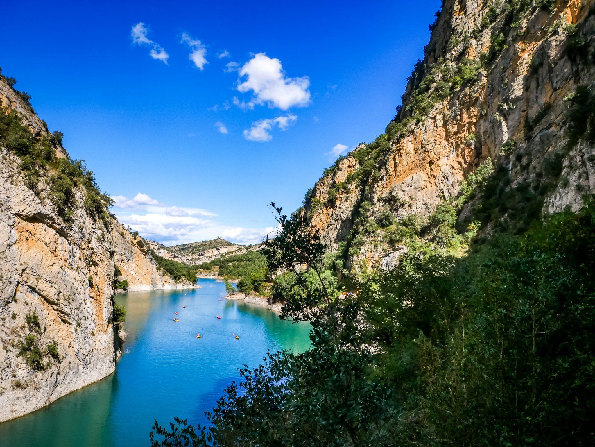 Die Schlucht von Mont Rebei ist einer der schönsten Wanderwege Spaniens. Verpasse dies nicht!