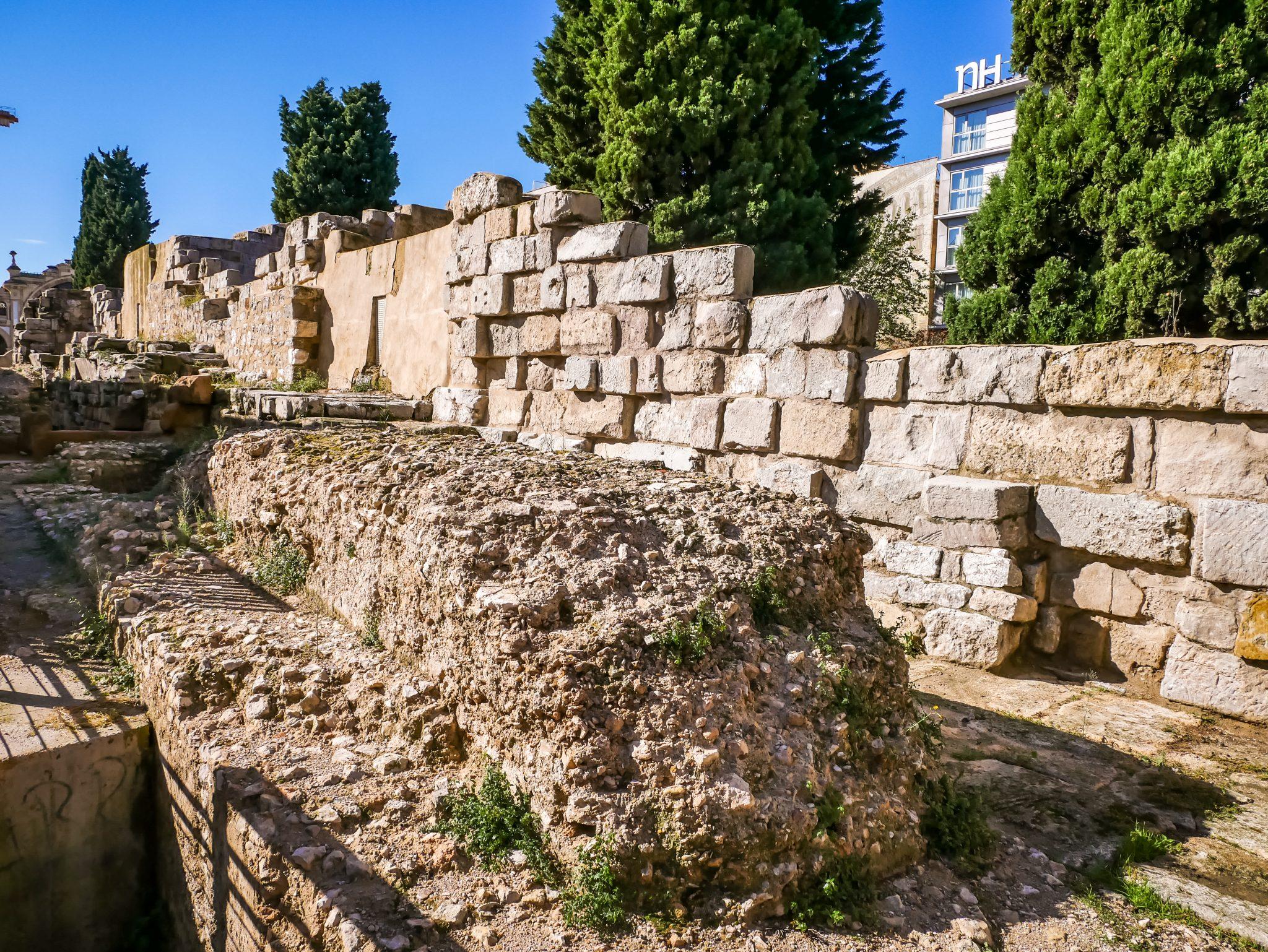 """Die Stadtmauern von """"Caesaraugusta"""" wurden im 3. Jahrhundert errichtet."""