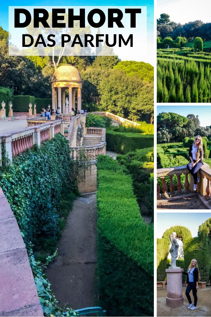 Drehort von das Parfum: Parc del Laberint d´Horta