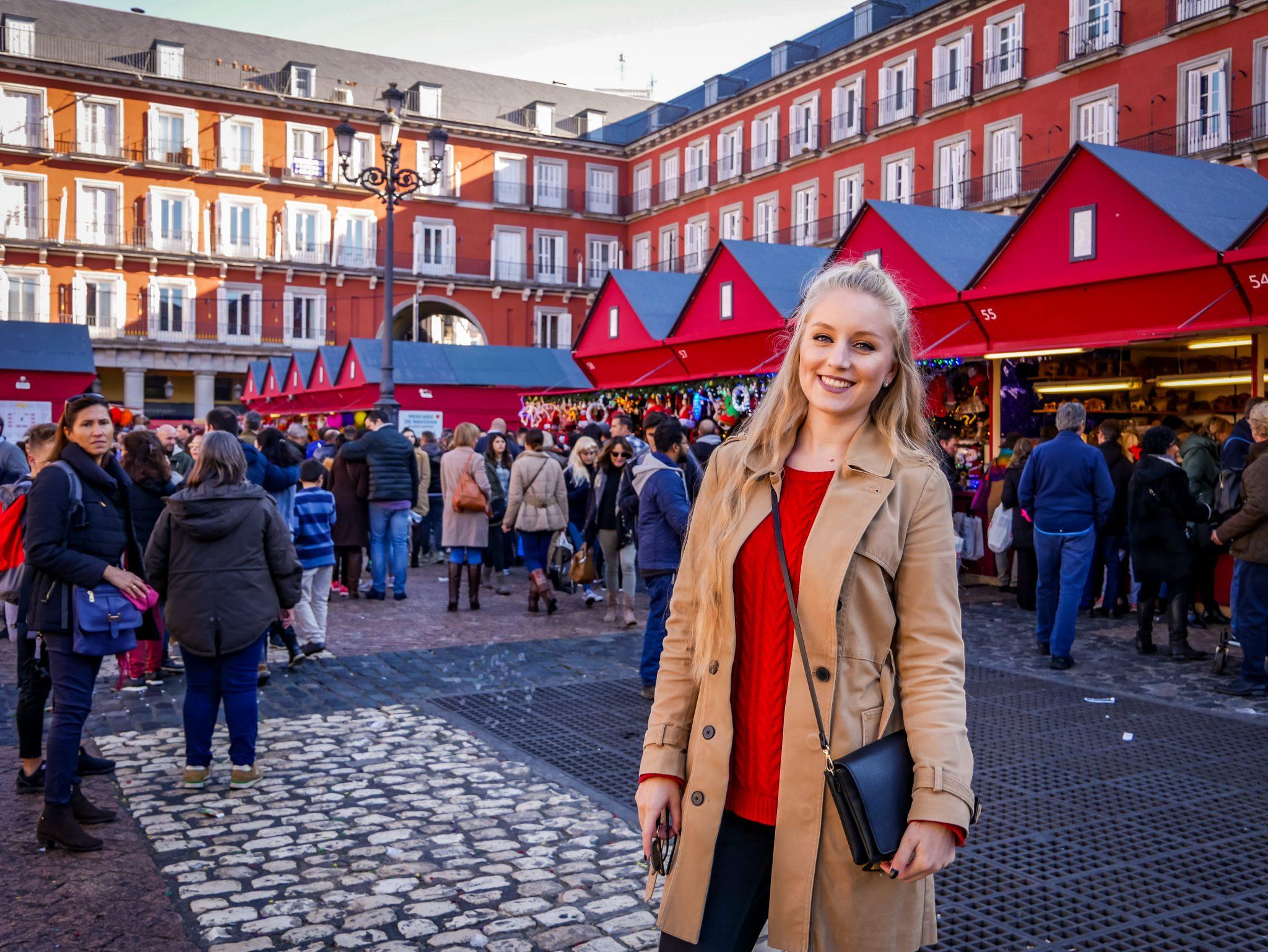 Ein absolutes Highlight: Der Weihnachtsmarkt in Spaniens Hauptstadt Madrid.