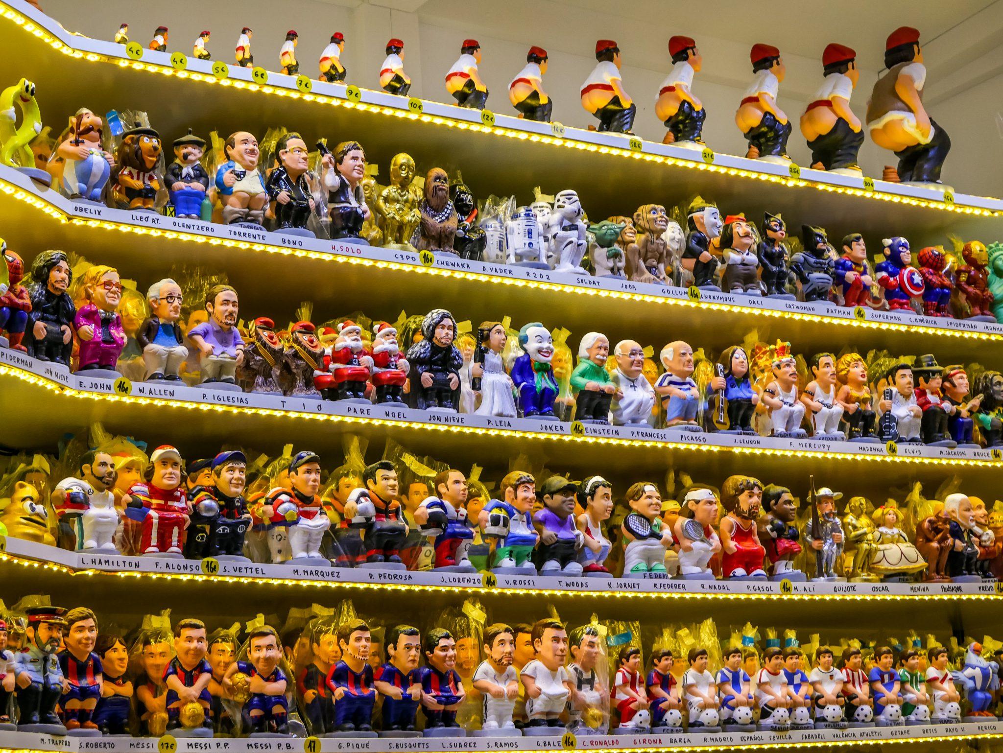 Von den Simpsons bis Merkel, alle Berufsbilder und Prominenten sind vertreten und niemand bleibt verschont.