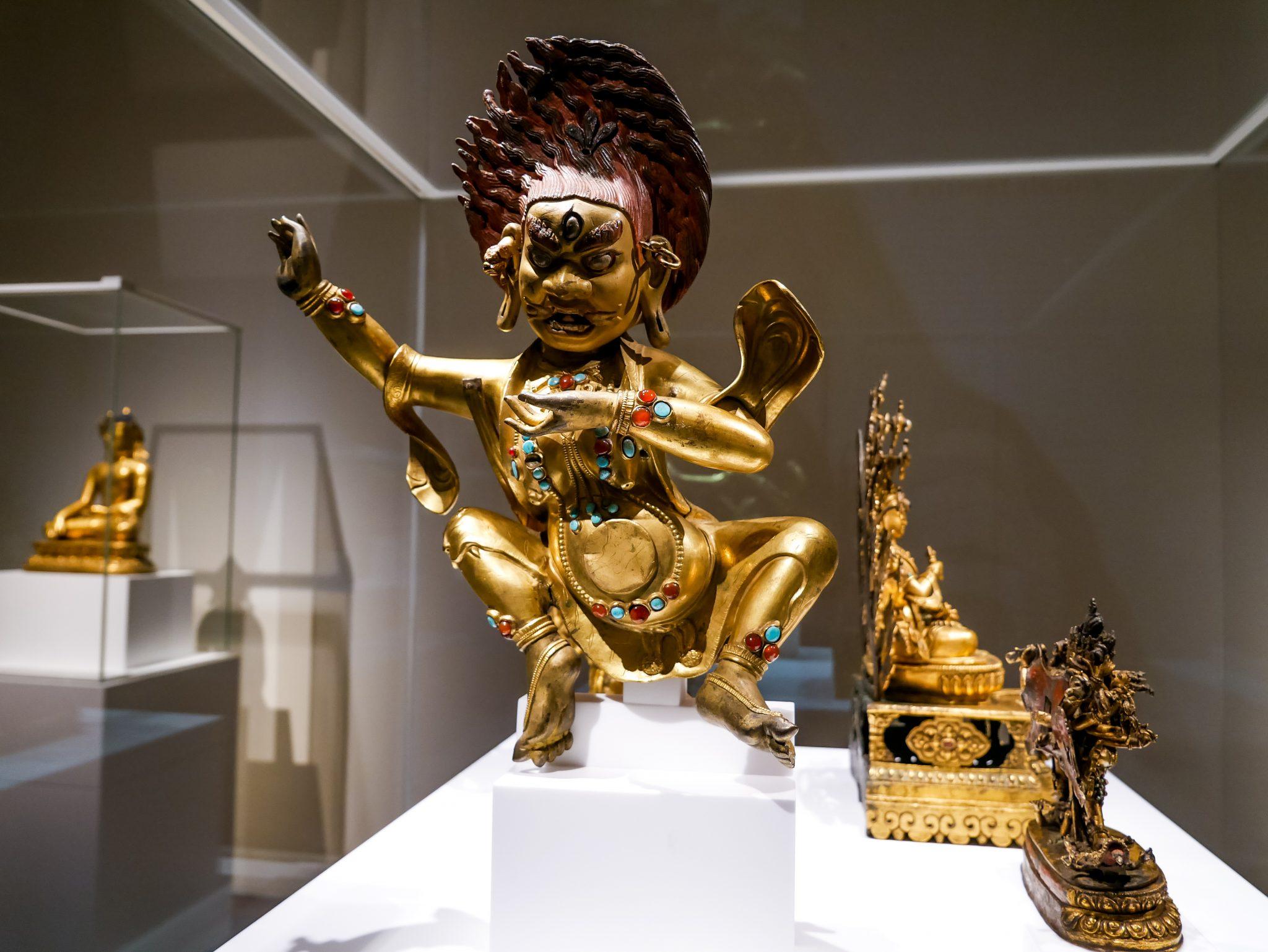 Die verschiedensten Kulturen treffen im Museu de Cultures del Mòn zusammen.