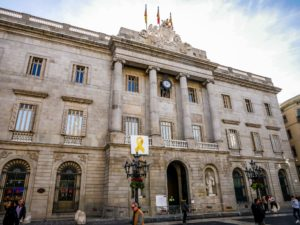 Ayuntamiento de Barcelona (Rathaus) (Adresse: Plaça Sant Jaume, s/n, Barcelona)