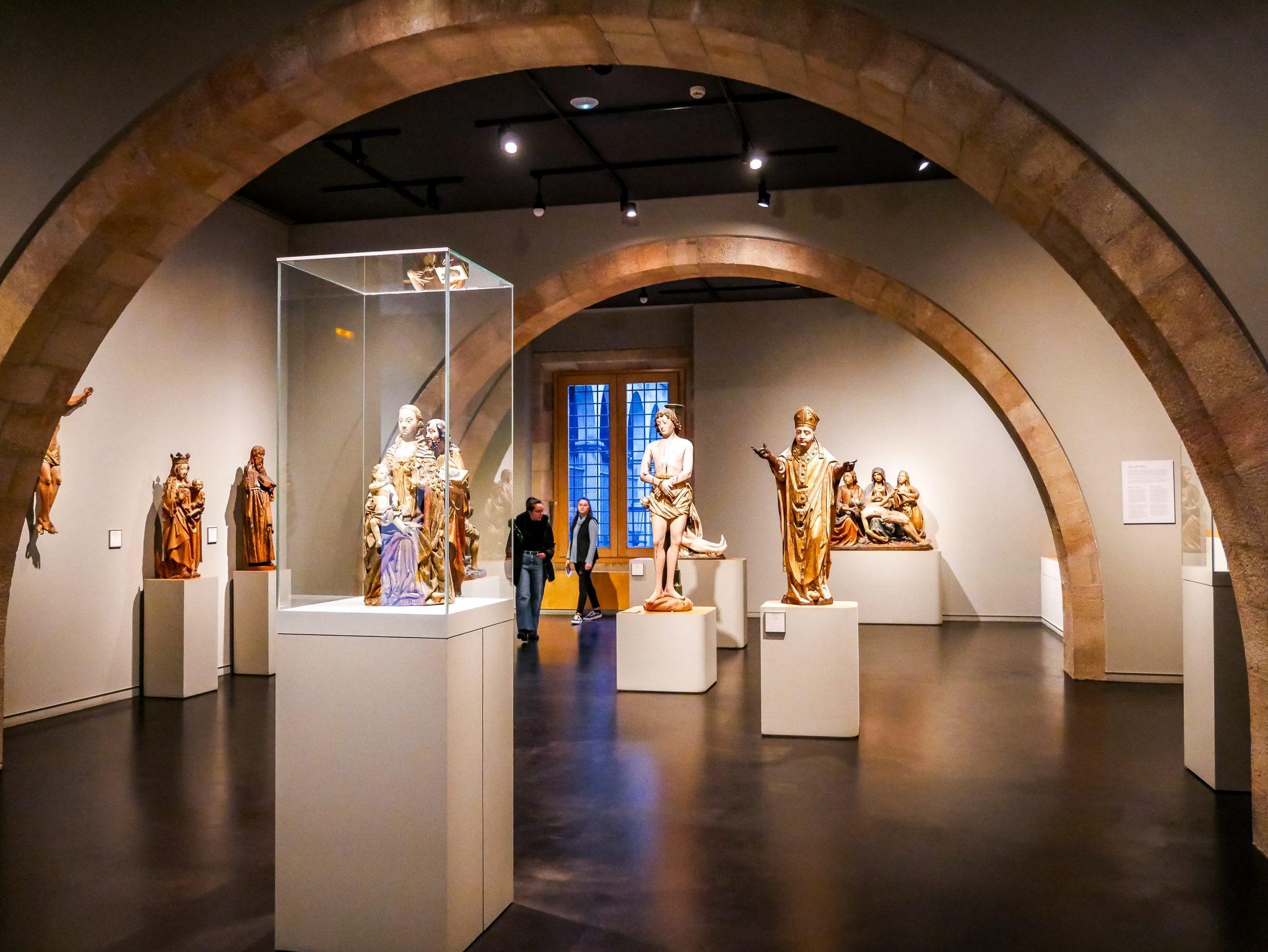 Die Sammlung im Museu Frederic Marès (MFM)ist der Wahnsinn und hat mich umgehauen. Von Skulpturen bis Schwerter - für jeden ist etwas dabei.