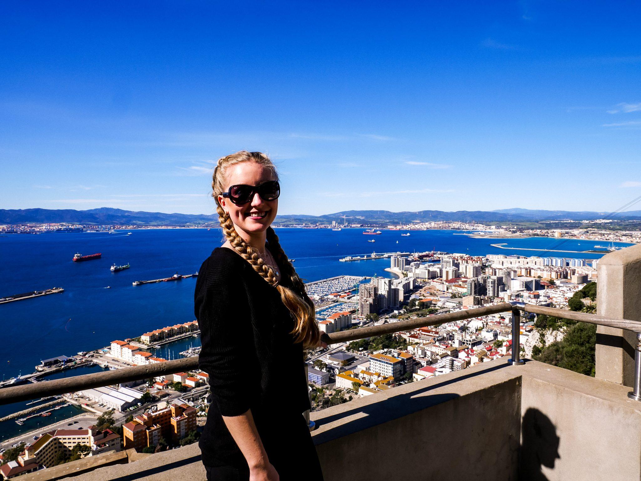 Vom Upper Rock hast du einen wundervollen Blick auf Gibraltar!
