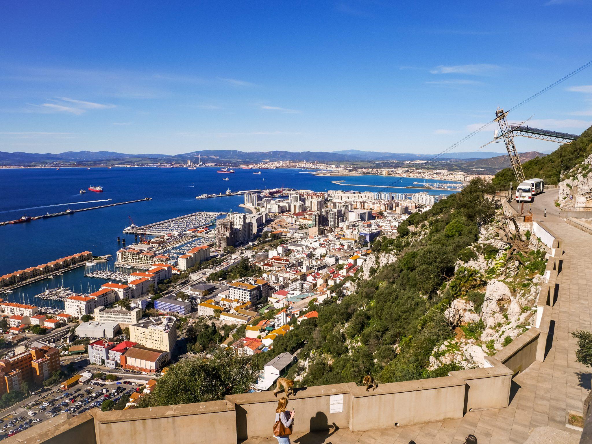 Was du dir in Gibraltar nicht entgehen lassen darfst, ist die Aussicht!