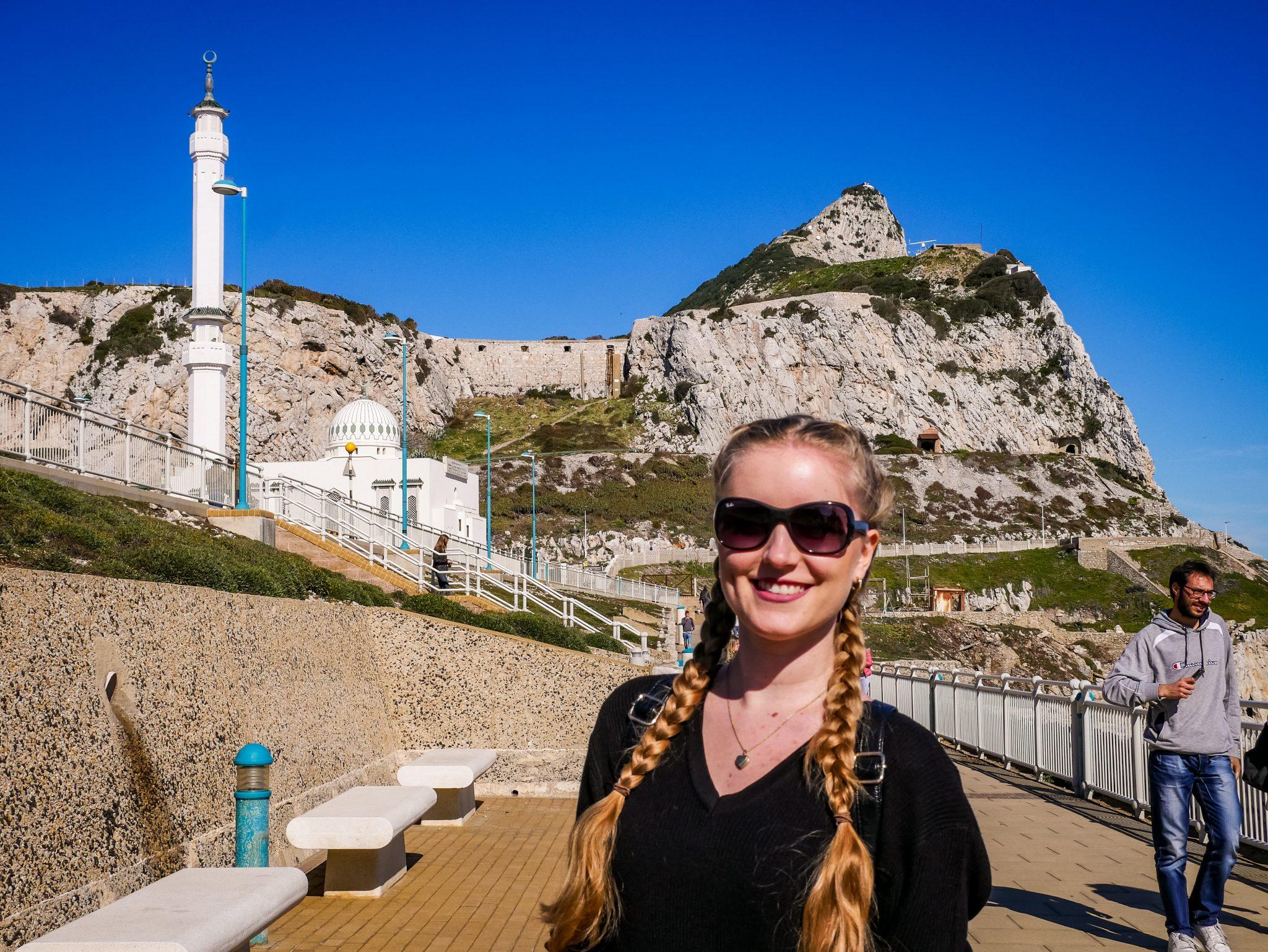Das wohl markanteste Bauwerk am Europa Point in Gibraltar ist wohl die Moschee.