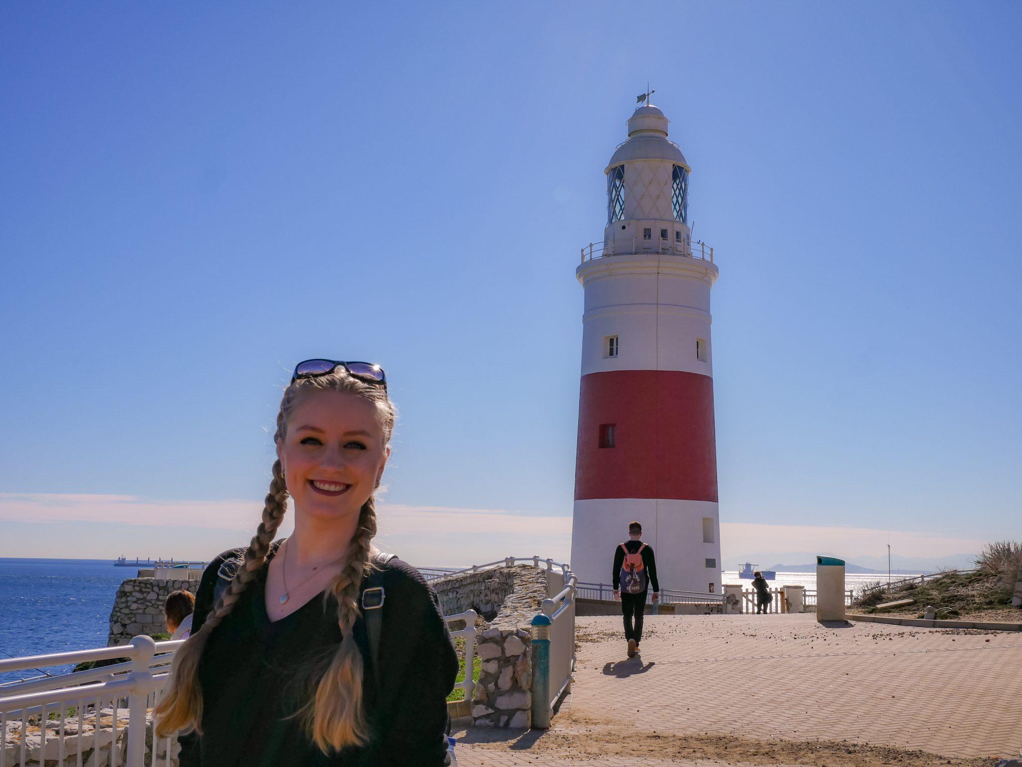 Der Leuchtturm am Europa Point in Gibraltar steht bereits seit dem Jahre 1841 dort.
