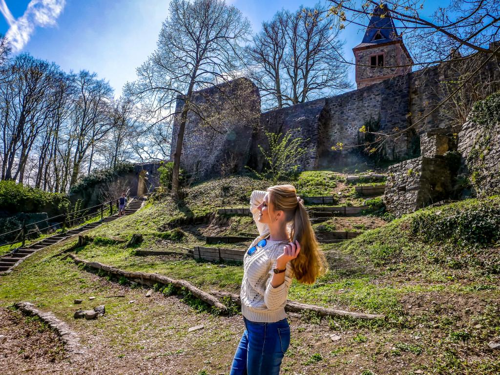 Eine richtig tolle Burg!