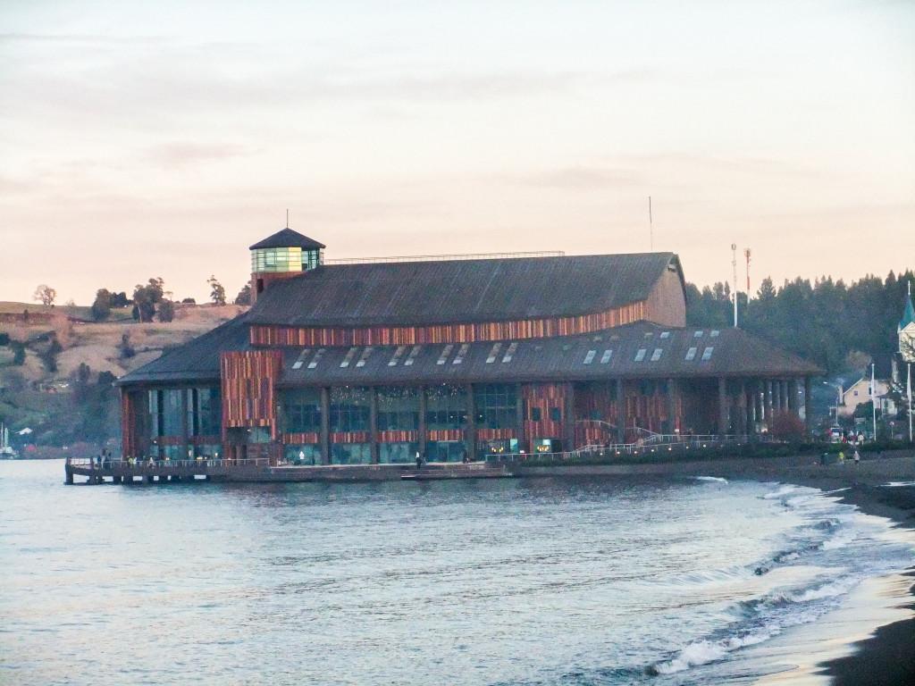 Das Seetheater/Teatro del lago kann man auch teilweise besichtigen. Wir sind einmal herum und haben ganz kurz hineingeschnuppert.