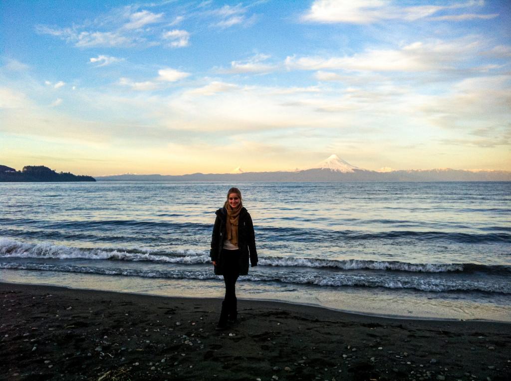 Die Sicht auf den Vulkan von Osorno ist phänomenal!