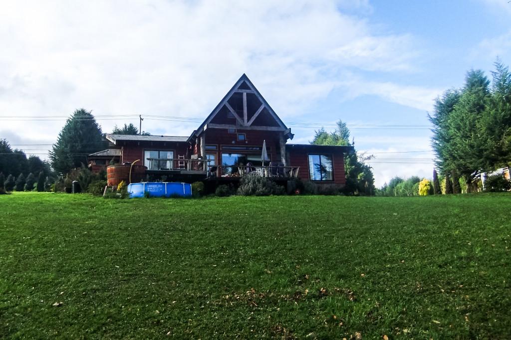 Das hier ist das Haus von meiner chilenischen Gastfamilie gewesen.