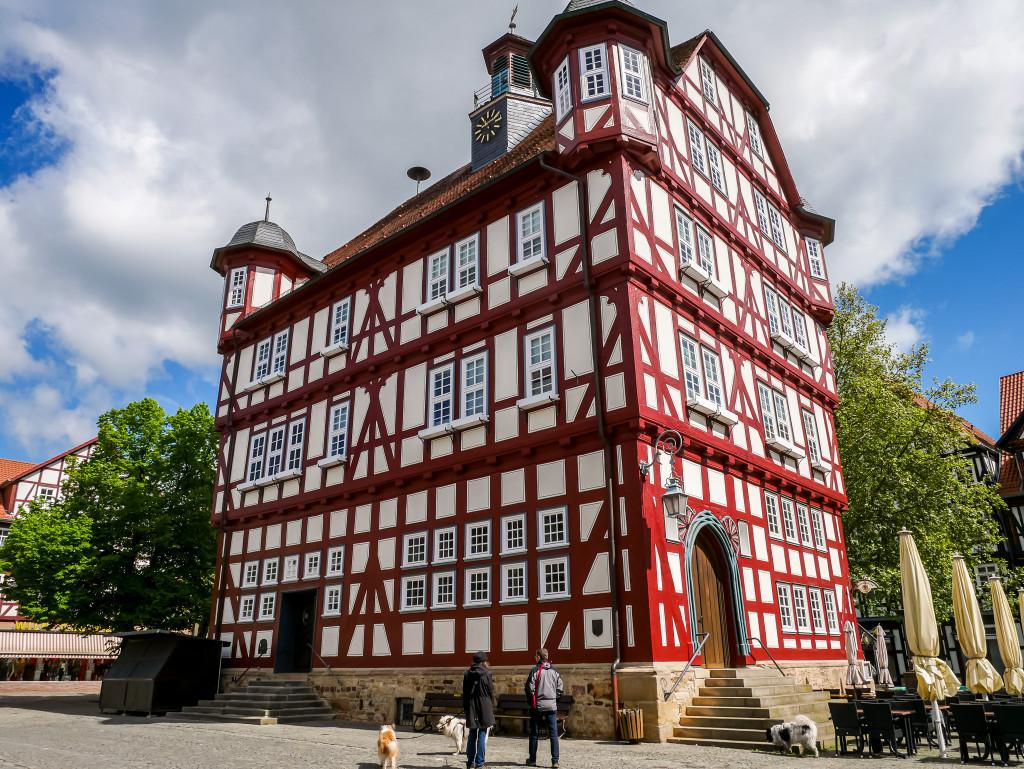 Das Rathaus von Melsungen ist aus dem Jahr 1560!