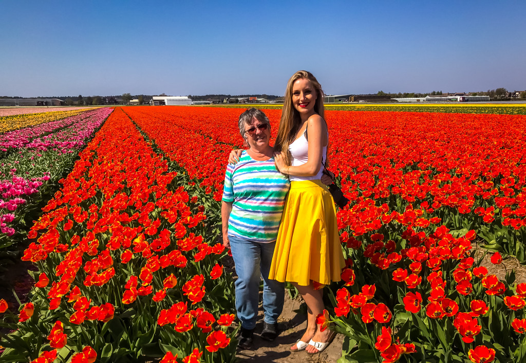 Wir haben uns in die vielen Tulpenfelder in den Niederlanden verliebt und werden definitiv nicht das letzte Mal dort gewesen sein.