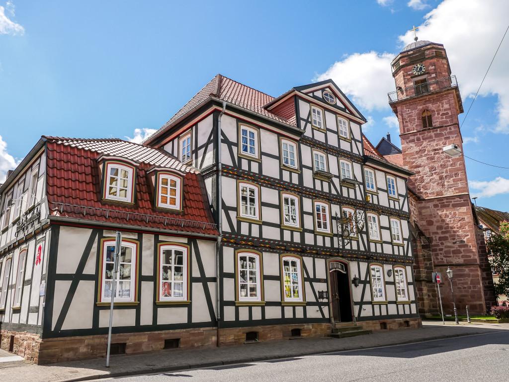 Rotenburg an der Fulda ist ein super Ausflugsziel wenn man in der Nähe ist.