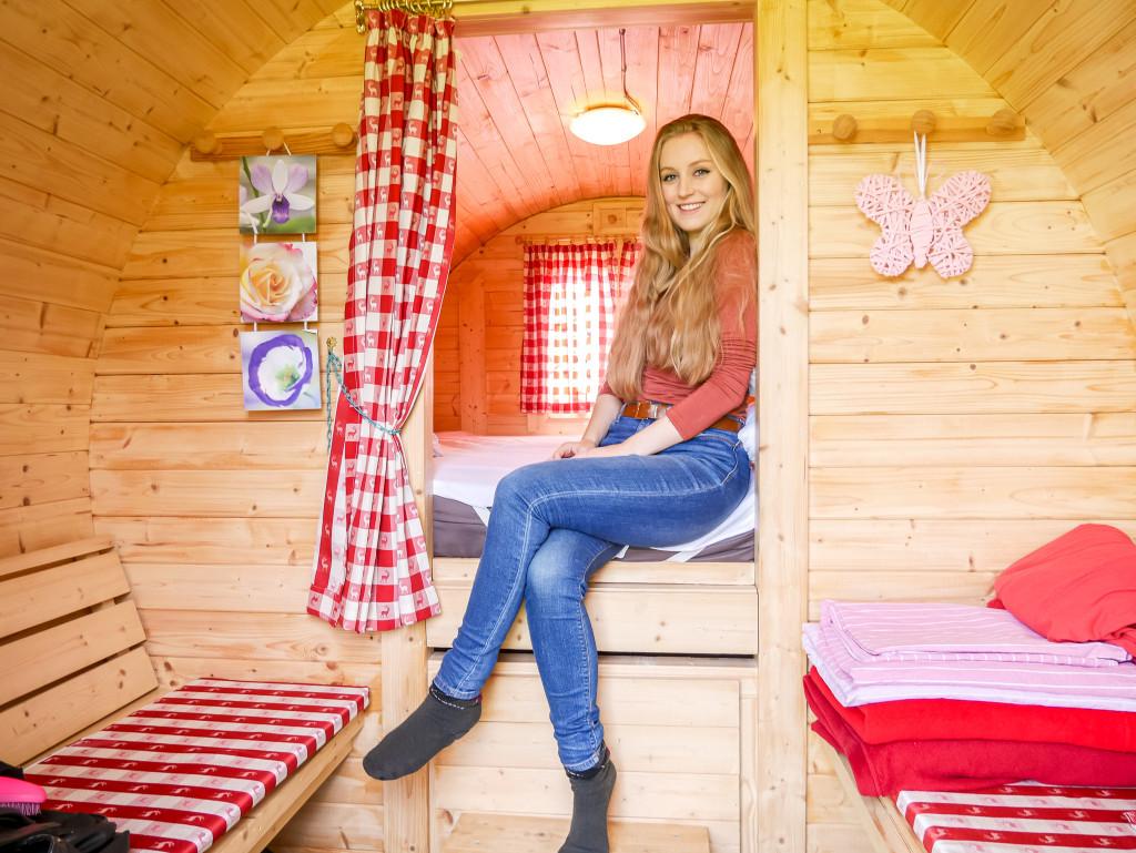 Habt ihr schon einmal in einem Schlaffass, Baumhaus, etc. übernachtet?