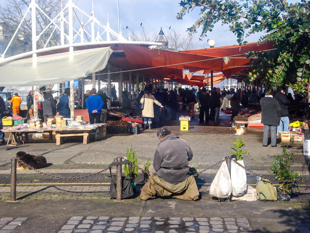 Das hier ist der Markt (Mercado Fluvial) von Valdivia.
