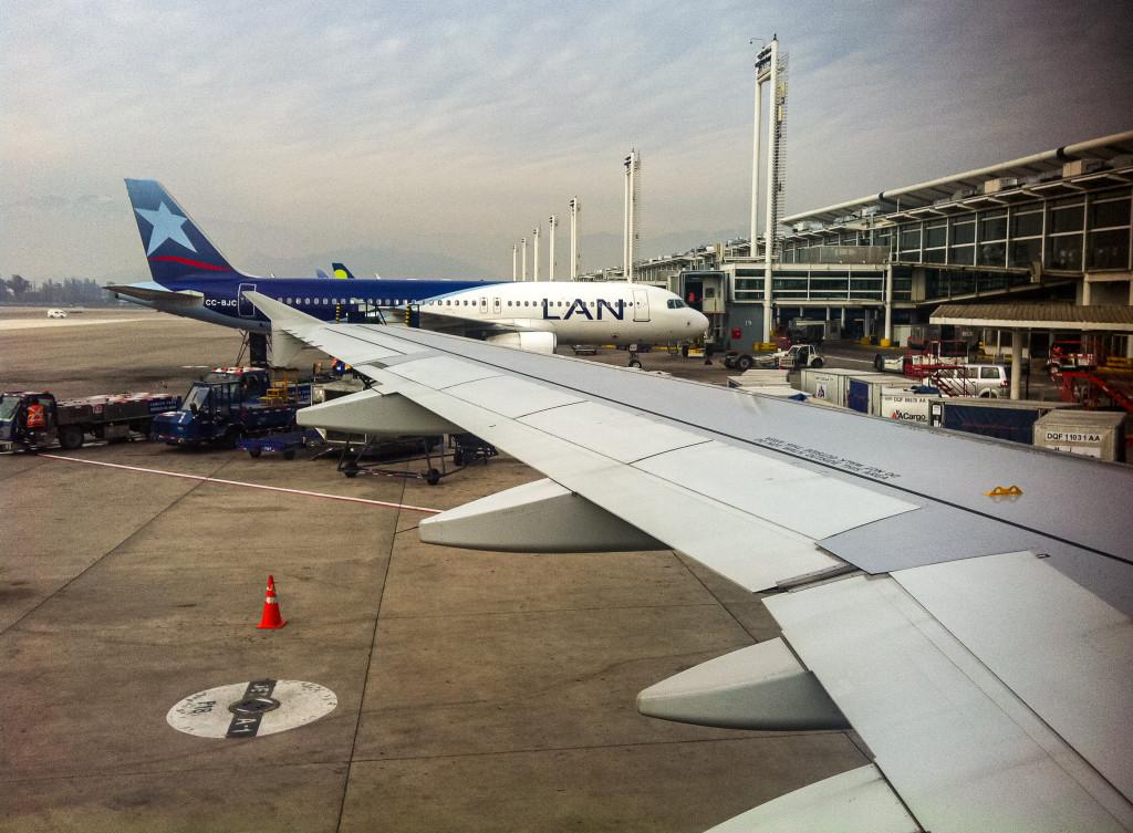 Mein dritter und letzter Flug, von Santiago de Chile nach Osorno, war dann wieder mit LAN.