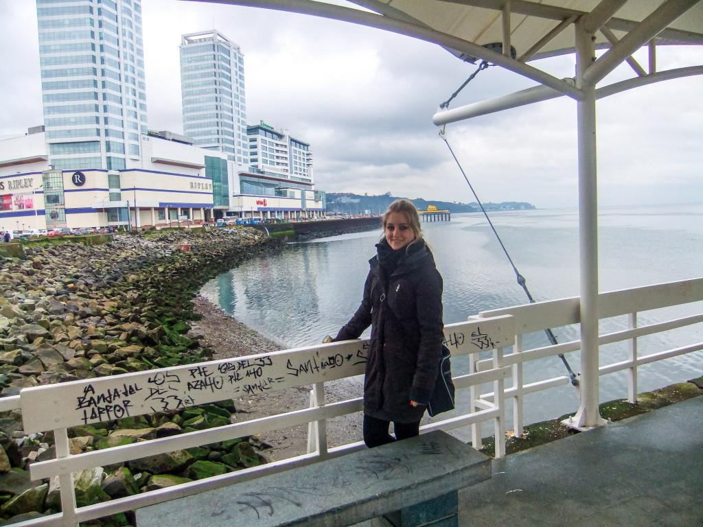 Die zwei Hochhäuser gehören auch fest zum Stadtbild von Puerto Montt dazu und befinden sich ebenfalls auf den Postkarten. Von der Muelle de Paseo könnt ihr diese am Besten fotografieren.