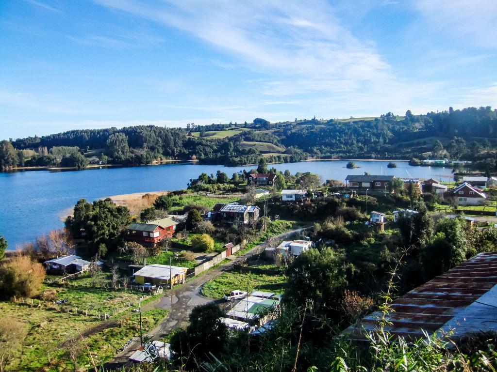 Besonders die Aussicht auf einen Teil der Stadt und einen Teil des Sees hat mir sehr gut gefallen.