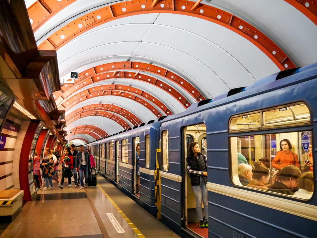 """Die Metro-Station """"Obvodny Kanal"""" hat mir auch sehr gut gefallen."""