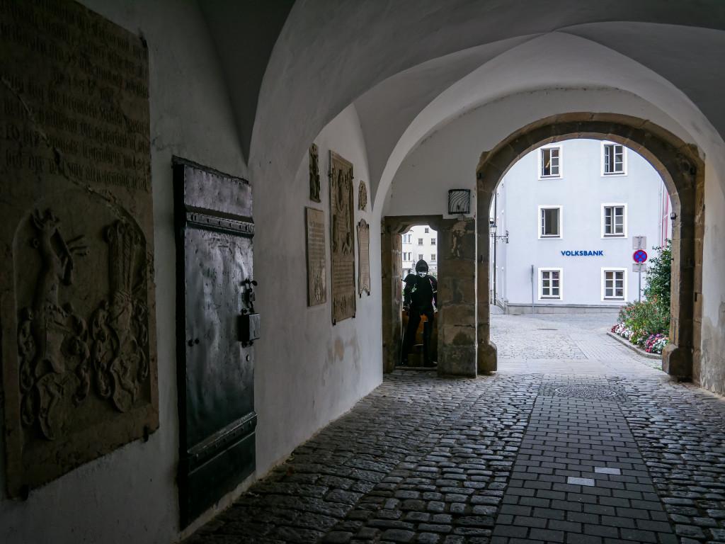 Heutzutage findet man im Schlosstor Schärding das Stadtmuseum.