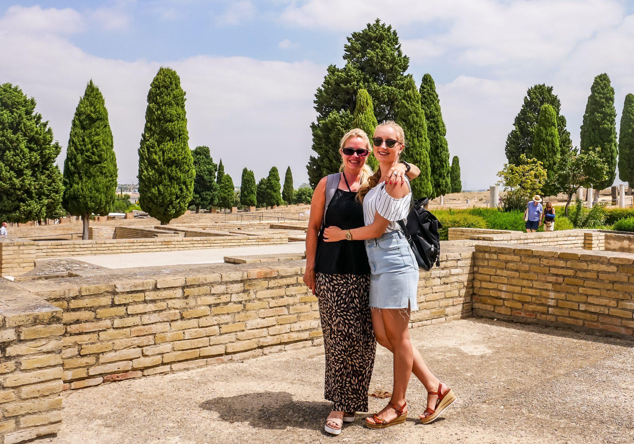 Gemeinsam mit meiner Mami habe ich Itálica besucht.