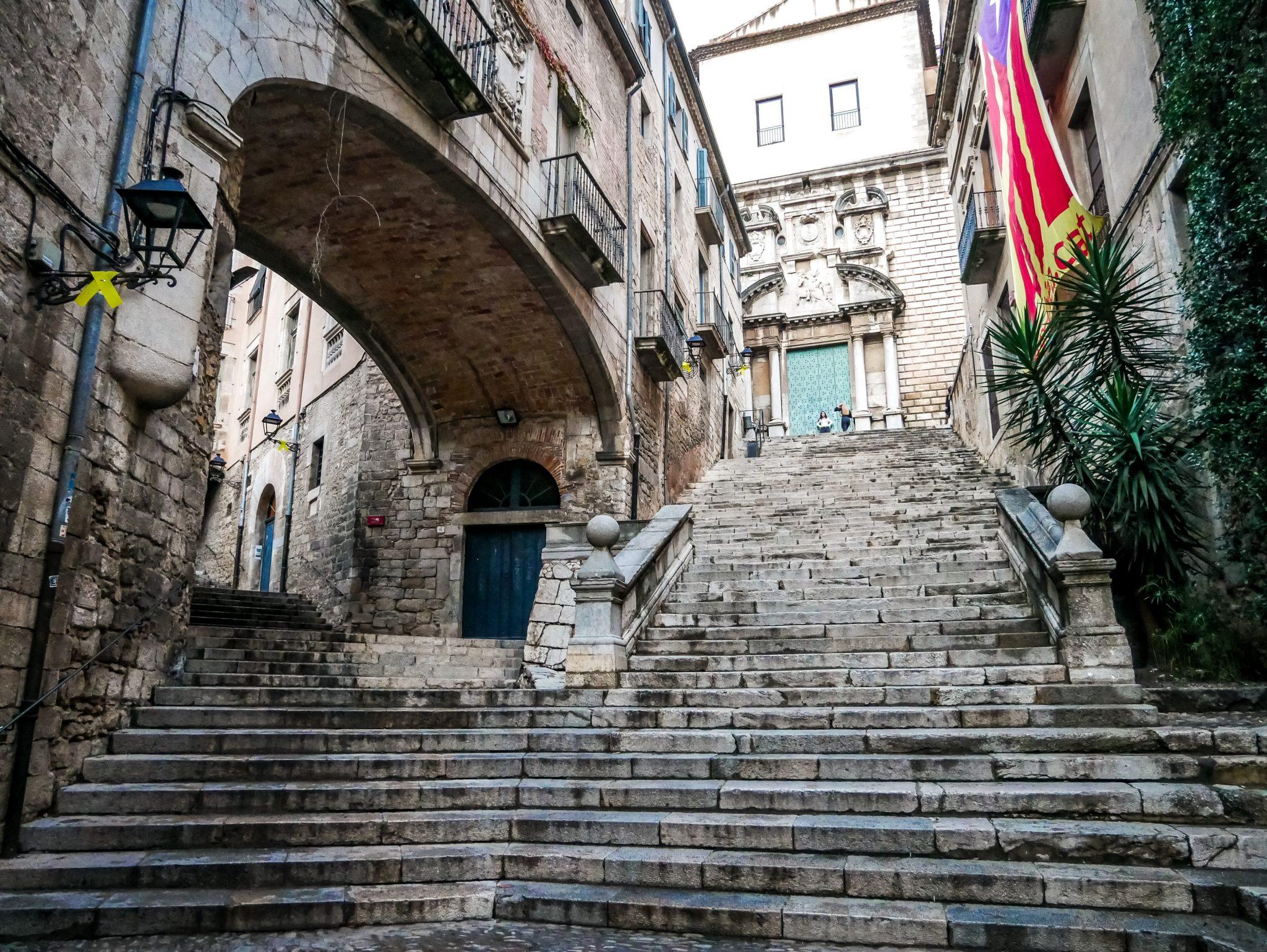 Die Verfolgungsjagd von Arya Stark findet ebenfalls in Girona statt.