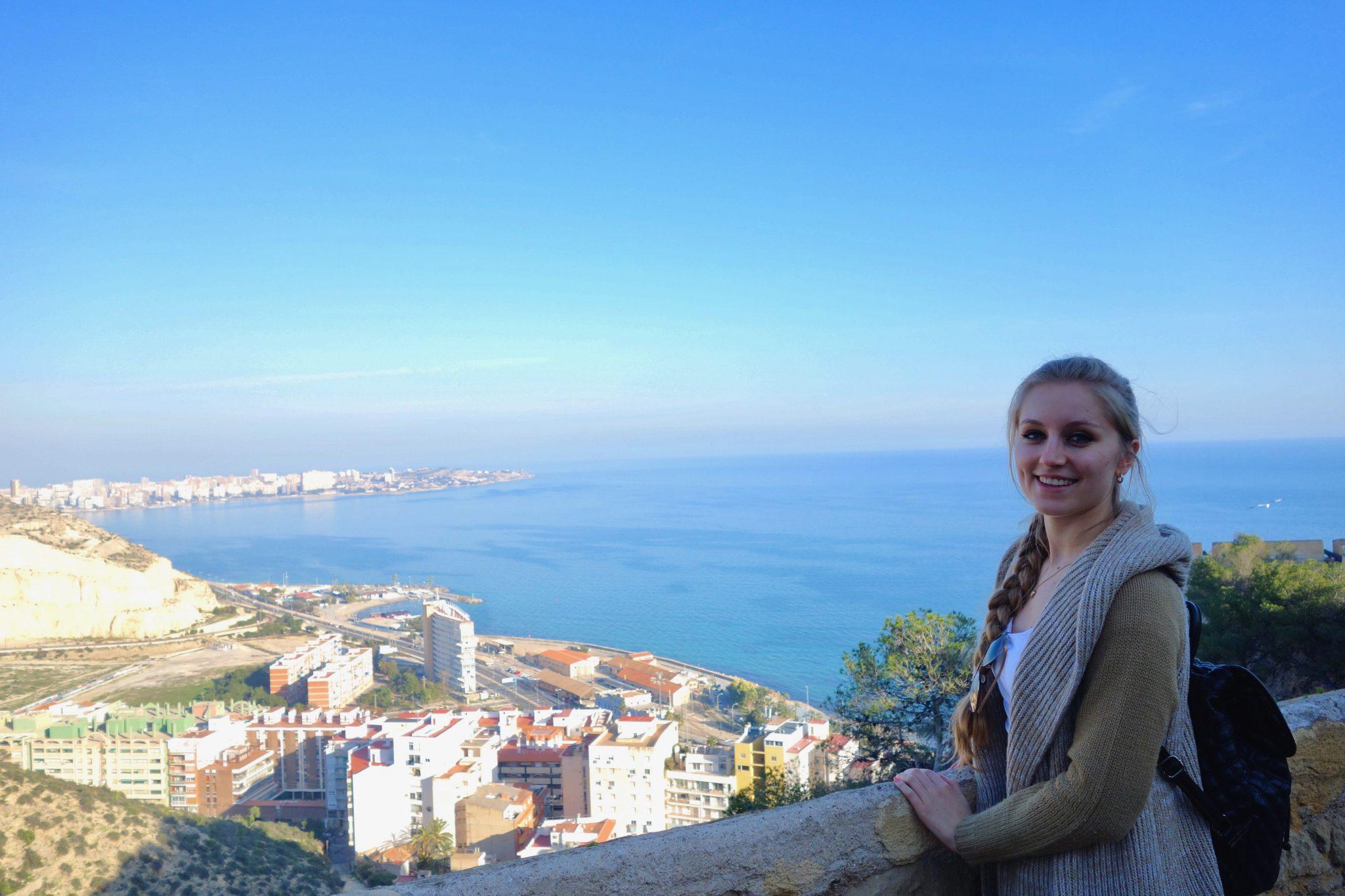 Alicante, Castillo de Santa Bárbara: Wir hätten uns stundenlang dort oben aufhalten können...