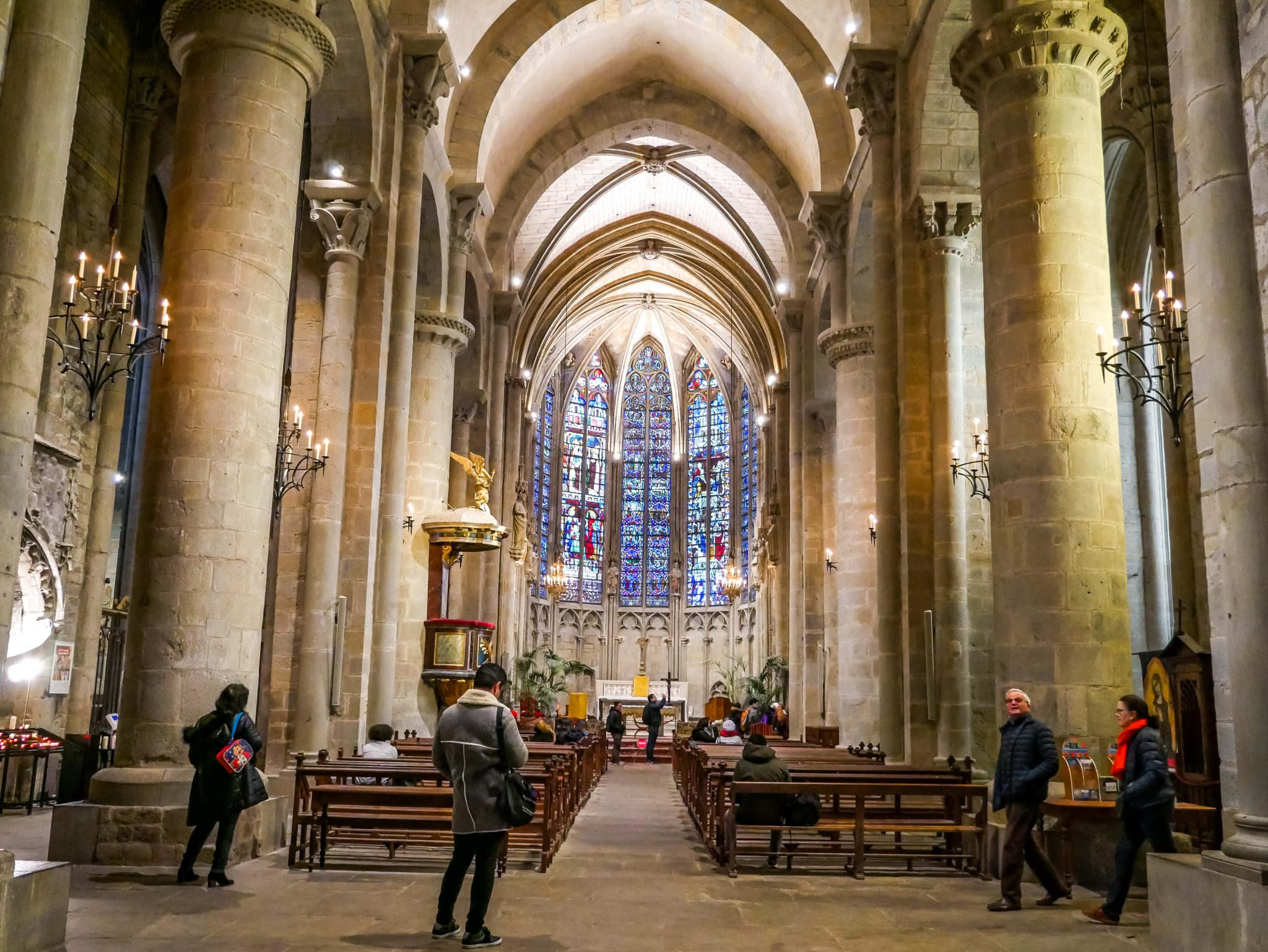 Die Basilika kannst du kostenlos besichtigen.