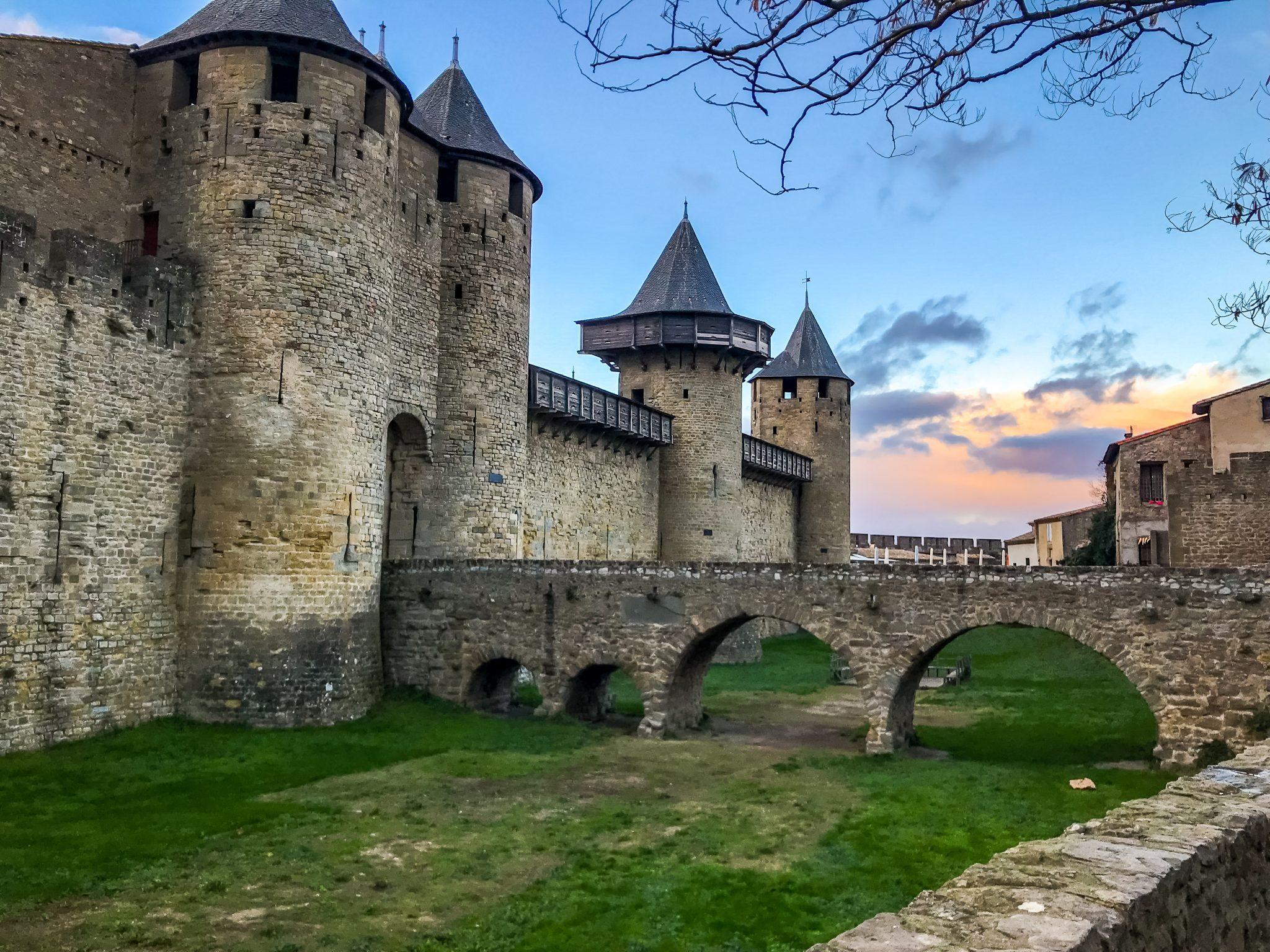 Es wundert mich nicht, dass in Carcassonne sehr viele mittelalterliche Filme gedreht werden.