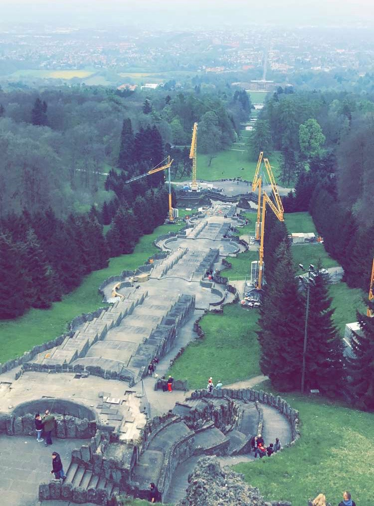 Kassel: Aussicht von der Herkules-Statue