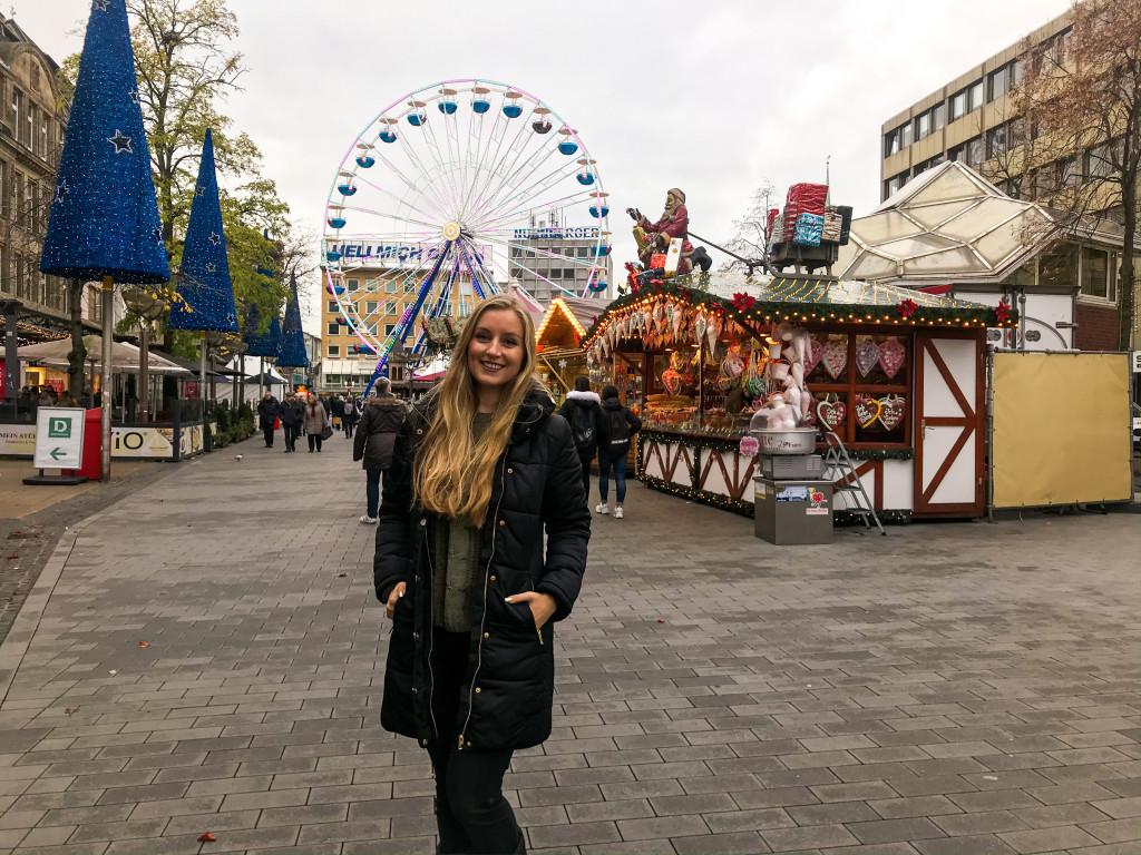 Ich habe zum ersten Mal den Duisburger Weihnachtsmarkt besucht!