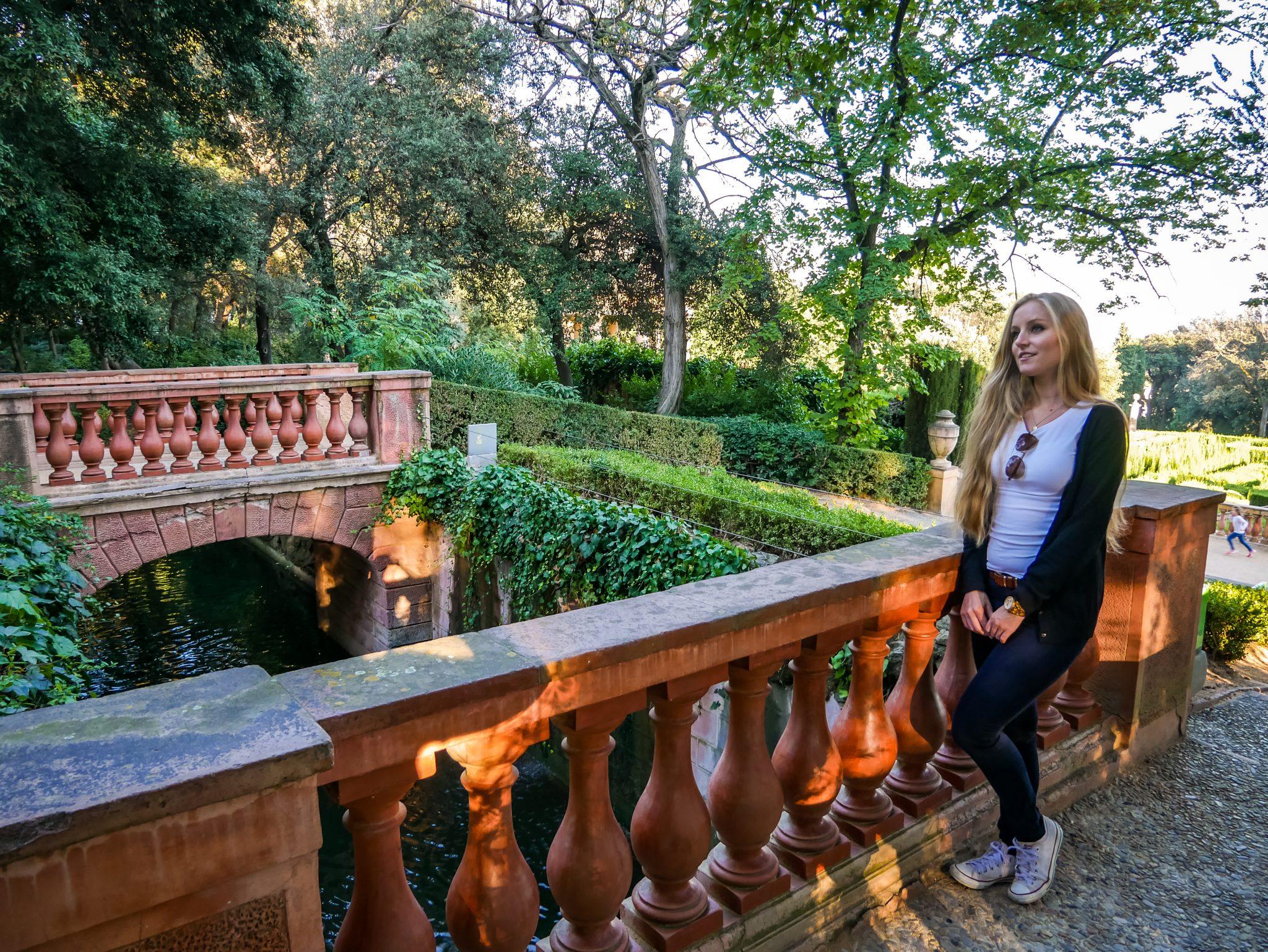 Ein traumhaft schöner Park, wenn man den Großstadtrummel von Barcelona entkommen möchte.