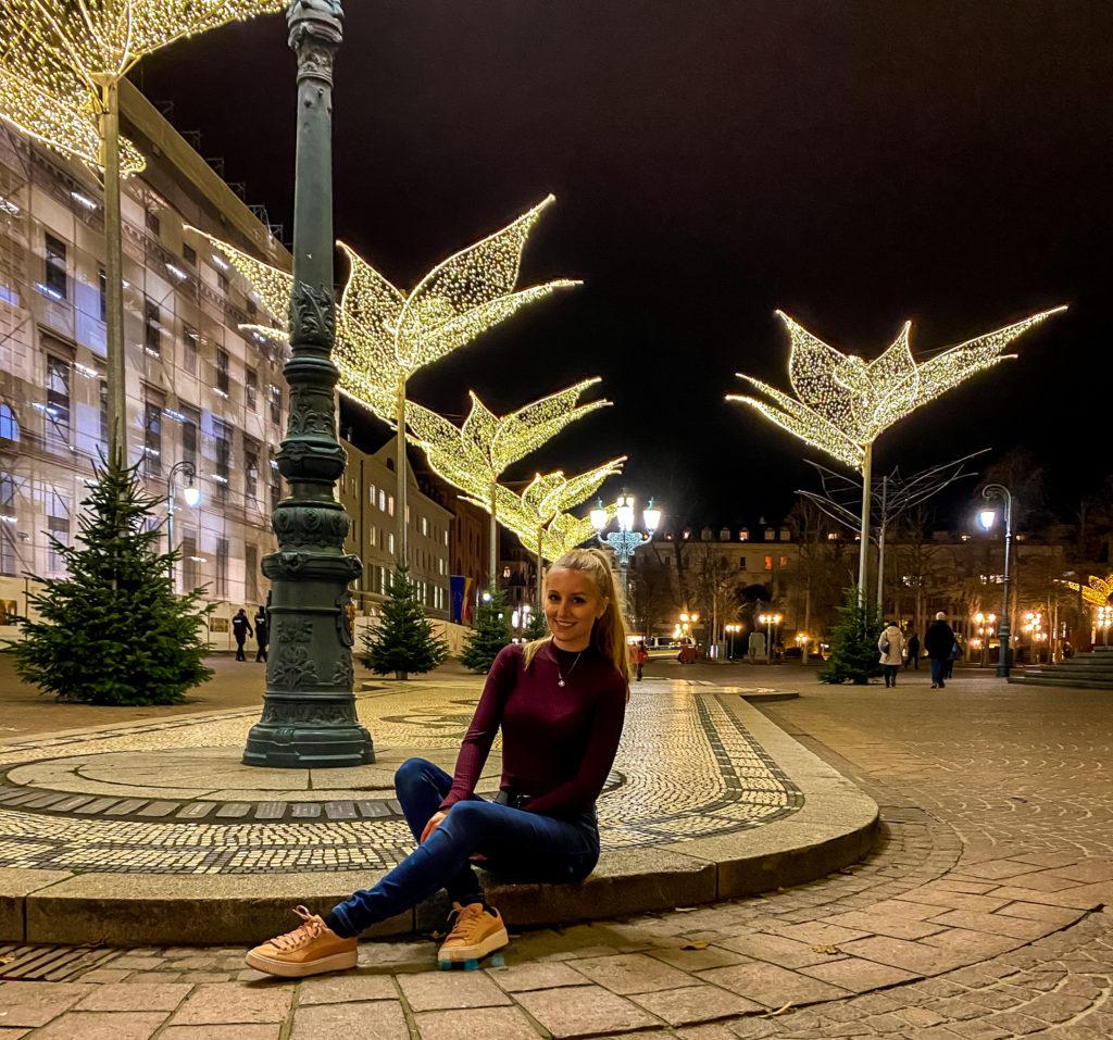 Lachend und weinend zugleich... Dass ich hier zur Weihnachtszeit mal ein Bild ohne Menschen machen kann, hätte ich mir niemals vorstellen können...