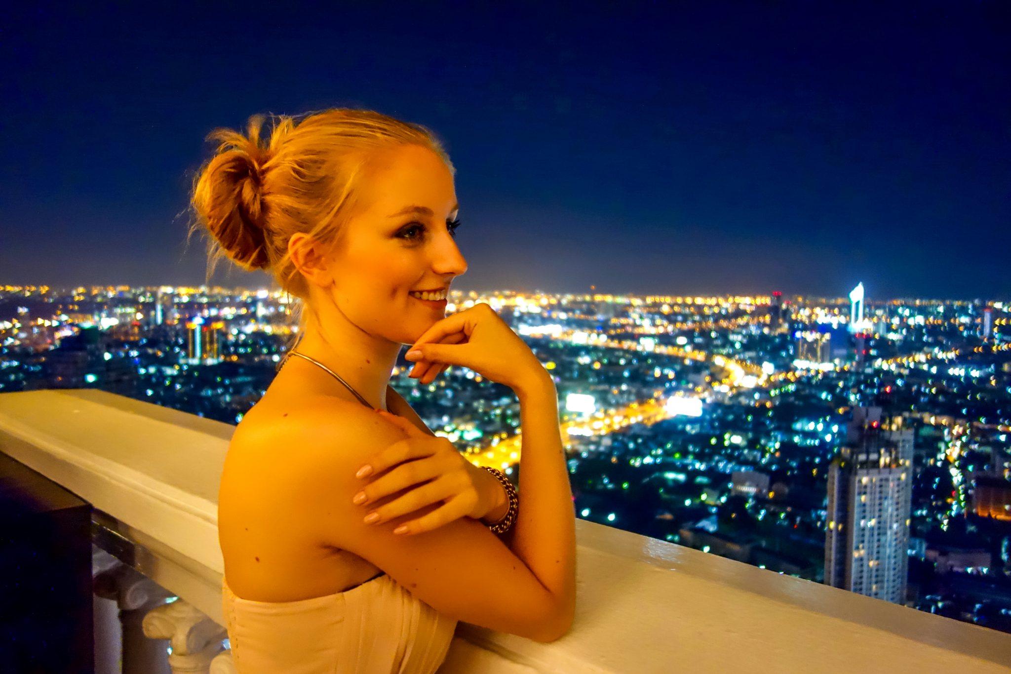 Vom Lebua State Tower hast du die wahrscheinlich beste Aussicht über Bangkok.